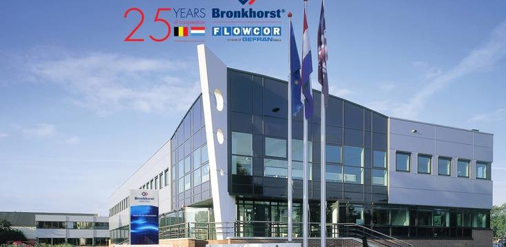 25 jaar samenwerken met Bronkhorst